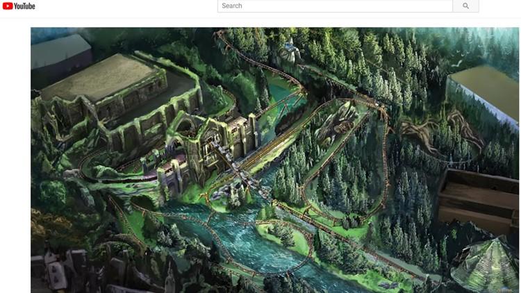Universal Orlando's new Harry Potter ride Hagrid's Magical Creatures Motorbike Adventure 031219