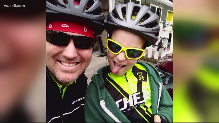 Father and son complete bike trip across America