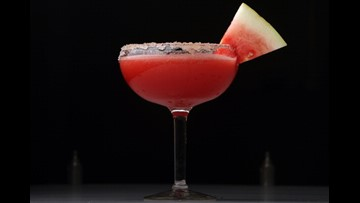 This summer's best frozen watermelon margarita recipe