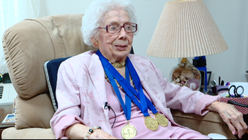 109-year-old senior Olympic champion offers advice to living a long life