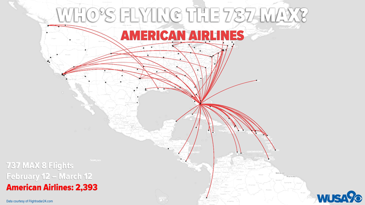 Who's Flying the 737 MAX: American Airlines