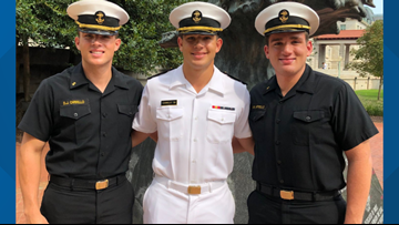 A family lost their Midshipman son. They have two more, including his twin, still at Naval Academy