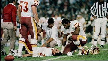 At 7 p.m. his eyes were on the Super Bowl. By 10 p.m. he'd never play football again