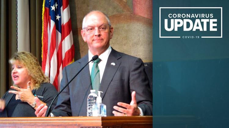 Gov. Edwards issues statewide mask mandate for Louisiana