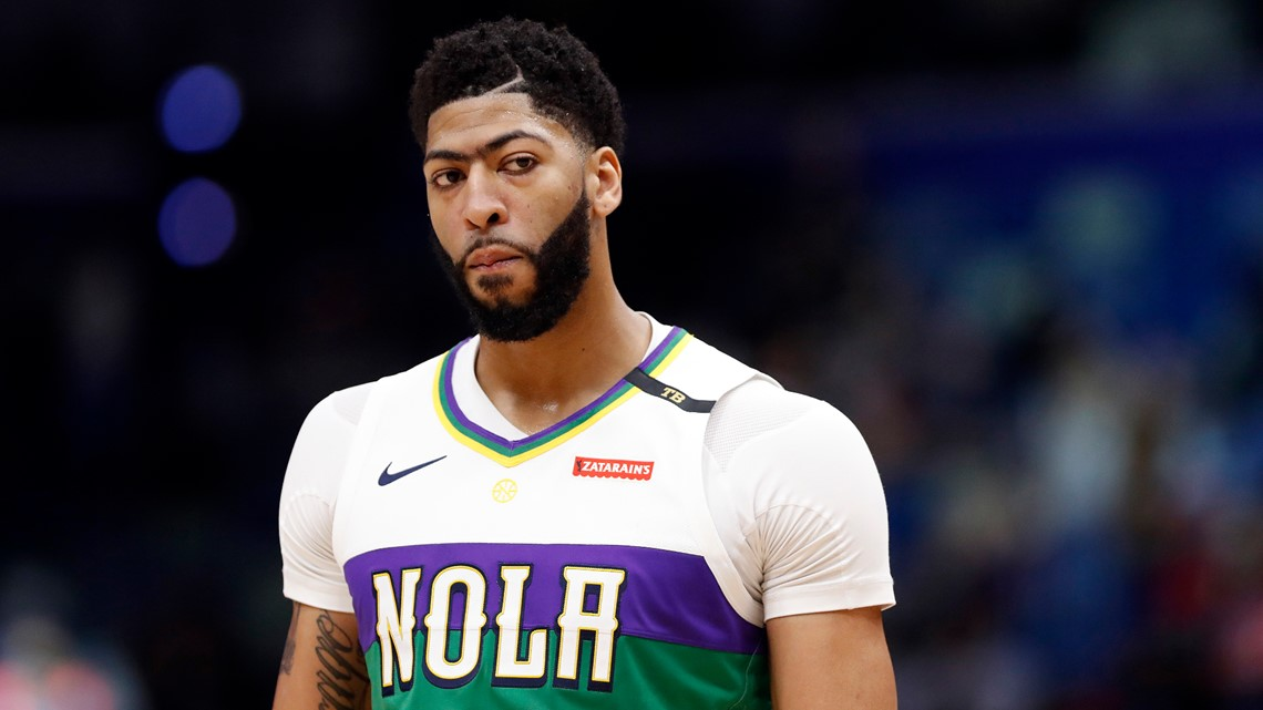 Anthony Davis traded to the Los Angeles Lakers, sources say