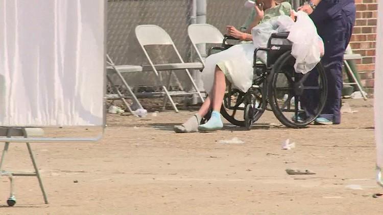 Louisiana shuts down nursing homes that evacuated residents to warehouse