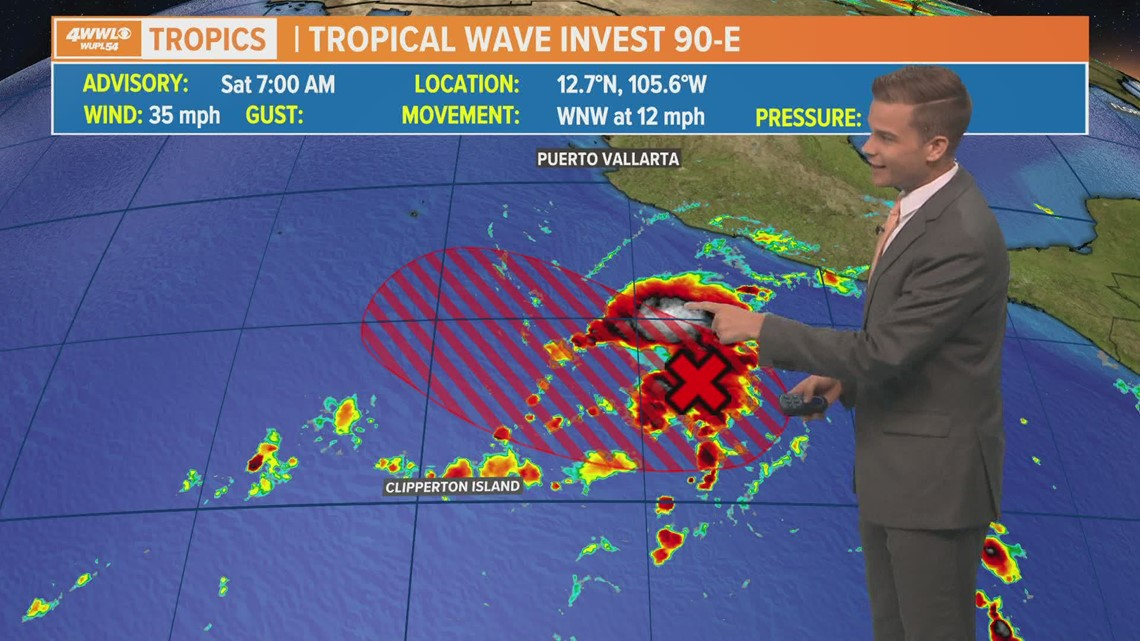 Tropical cyclone likely in Eastern Pacific, could be earliest on record