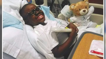 'He never complained' - 7-year-old's battle with rare disease was getting better and then he got COVID