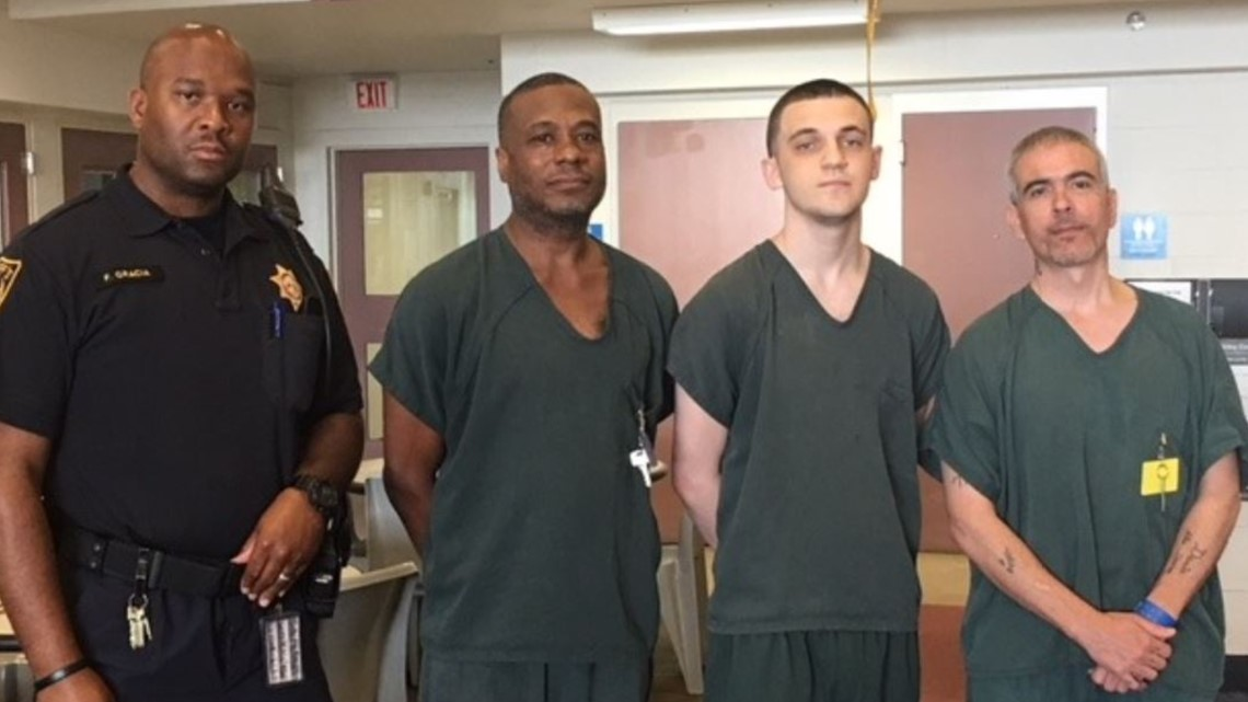 Sheriff's office credits 3 inmates, deputy for saving life