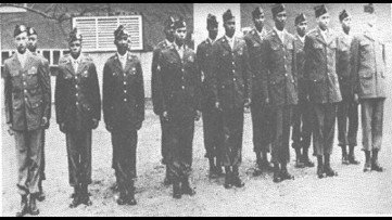 "A historic leap | The last living African-American paratroopers ""Triple Nickels"" of WWII"