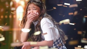 Angelica Hale makes America's Got Talent history!