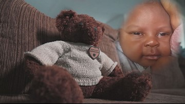Mom grieving loss of baby asked to prove his death immediately in court appearance
