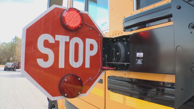 Shocking videos show metro Atlanta school bus drivers putting kids' lives at risk