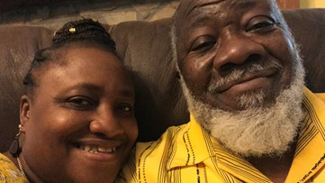 Couple celebrates 24th anniversary after husband beats COVID-19