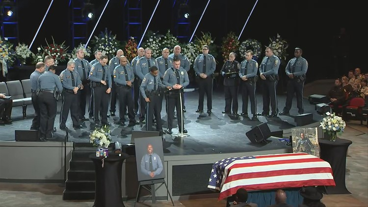 Funeral honors the life of Gwinnett Officer Antwan Toney