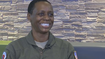 First African American female hurricane hunter flies into the eye of world's most dangerous storms