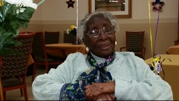 Her restaurant was a haven during the Civil Rights Movement. She's turning 107 years old.