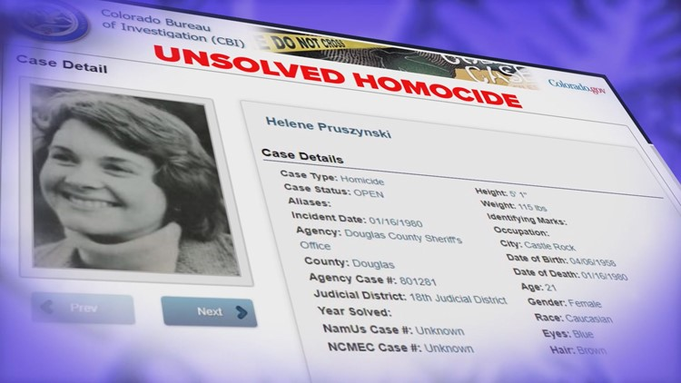 Helene Pruszynski Cold Case All in the Family