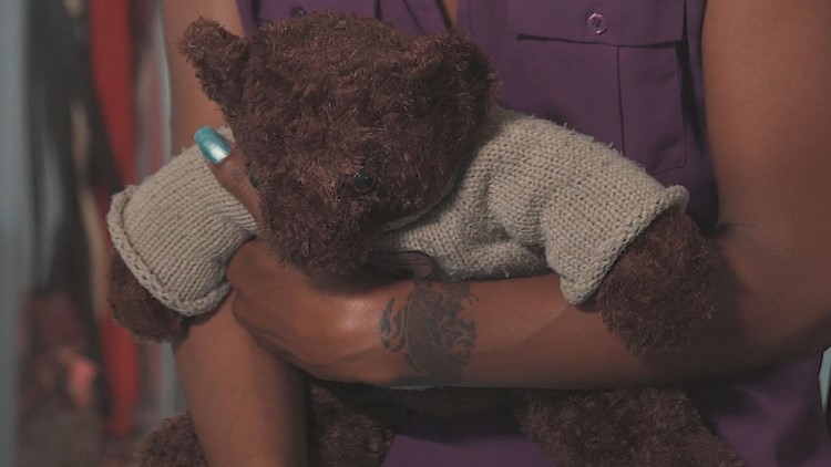 Ashes to Prove Teddy Bear
