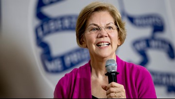 Warren vows to cancel college debt without awaiting Congress