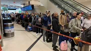 Atlanta Airport security wait times peaked at 2 hours on 'Mass Exodus Monday'