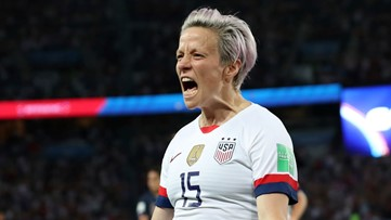 US beats France 2-1 in World Cup quarterfinal, gets England next