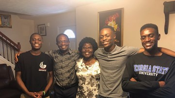 Brothers combine for 36 years of perfect attendance