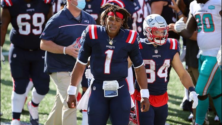Patriots cut Cam Newton, clearing way for Mac Jones to start