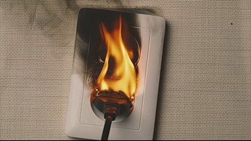 Don't play with fire: Firefighters warn against viral 'outlet challenge'