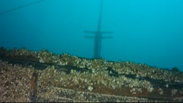 LOST AND FOUND: 1891 shipwreck 'amazingly intact' on Lake Michigan bottom